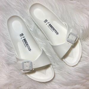 New White Foam Birkenstock's